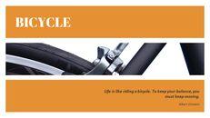 자전거 심플한 Google 슬라이드 템플릿_08
