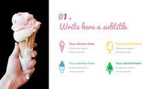 아이스크림 가게 심플한 Google 슬라이드 템플릿_03