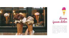 아이스크림 가게 심플한 Google 슬라이드 템플릿_05