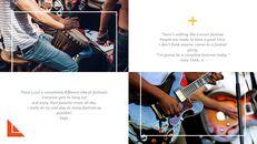 음악 축제 심플한 프레젠테이션 Google 슬라이드 템플릿_05