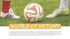 축구 선수 심플한 프레젠테이션 Google 슬라이드 템플릿_05