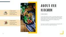 다양한 요리 (요식업) 파워포인트 템플릿 멀티디자인_04