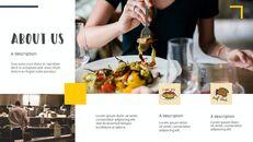 다양한 요리 (요식업) 파워포인트 템플릿 멀티디자인_06