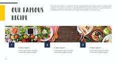 다양한 요리 (요식업) 파워포인트 템플릿 멀티디자인_14
