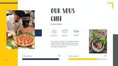 다양한 요리 (요식업) 파워포인트 템플릿 멀티디자인_16