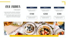 다양한 요리 (요식업) 파워포인트 템플릿 멀티디자인_19