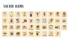 다양한 요리 (요식업) 파워포인트 템플릿 멀티디자인_31