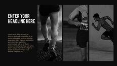 달리기, 육상, 마라톤 PowerPoint 템플릿 디자인_05