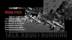달리기, 육상, 마라톤 PowerPoint 템플릿 디자인_06