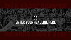 달리기, 육상, 마라톤 PowerPoint 템플릿 디자인_22