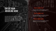 달리기, 육상, 마라톤 PowerPoint 템플릿 디자인_39