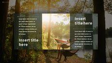 캠핑 프레젠테이션용 Google 슬라이드 테마_11