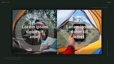 캠핑 프레젠테이션용 Google 슬라이드 테마_12