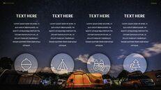 캠핑 프레젠테이션용 Google 슬라이드 테마_24