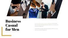 남자의 스타일과 패션 프레젠테이션 PowerPoint 템플릿 디자인_24