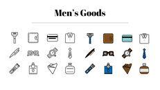 남자의 스타일과 패션 프레젠테이션 PowerPoint 템플릿 디자인_48
