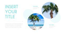 여름 해변 프레젠테이션 PowerPoint 템플릿 디자인_07