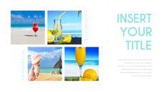 여름 해변 프레젠테이션 PowerPoint 템플릿 디자인_08