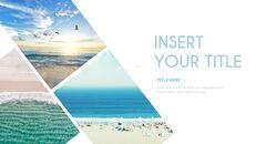 여름 해변 프레젠테이션 PowerPoint 템플릿 디자인_27