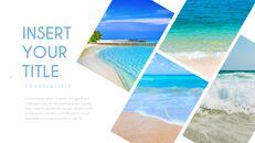여름 해변 프레젠테이션 PowerPoint 템플릿 디자인_30