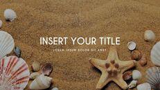 여름 해변 프레젠테이션 PowerPoint 템플릿 디자인_32