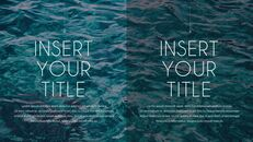여름 해변 프레젠테이션 PowerPoint 템플릿 디자인_33