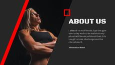체육관과 피트니스 프레젠테이션용 Google 슬라이드 테마_03