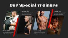 체육관과 피트니스 프레젠테이션용 Google 슬라이드 테마_05