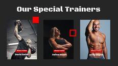 체육관과 피트니스 프레젠테이션용 Google 슬라이드 테마_06