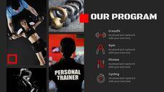 체육관과 피트니스 프레젠테이션용 Google 슬라이드 테마_08