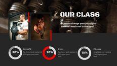 체육관과 피트니스 프레젠테이션용 Google 슬라이드 테마_09