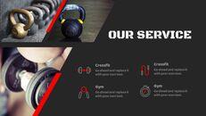 체육관과 피트니스 프레젠테이션용 Google 슬라이드 테마_12