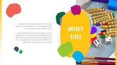 키즈 & 아트 프레젠테이션용 PowerPoint 템플릿_09