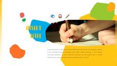 키즈 & 아트 프레젠테이션용 PowerPoint 템플릿_24