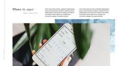 인플루언서 마케팅 피치 심플한 Google 슬라이드 템플릿_03