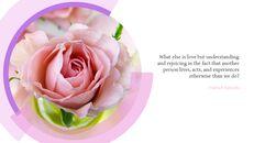 핑크 플라워 Google 슬라이드 프레젠테이션 템플릿_13