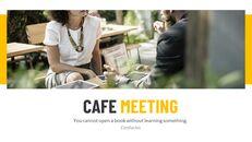 카페 회의 심플한 Google 슬라이드 템플릿_06