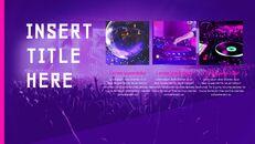 음악 축제 Google 슬라이드 프레젠테이션 템플릿_12