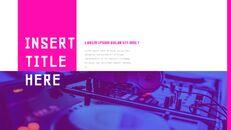 음악 축제 Google 슬라이드 프레젠테이션 템플릿_13