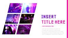 음악 축제 Google 슬라이드 프레젠테이션 템플릿_14