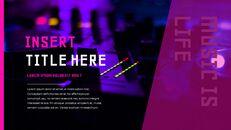 음악 축제 Google 슬라이드 프레젠테이션 템플릿_15