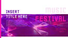 음악 축제 Google 슬라이드 프레젠테이션 템플릿_20