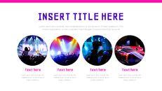 음악 축제 Google 슬라이드 프레젠테이션 템플릿_25