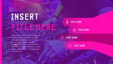 음악 축제 Google 슬라이드 프레젠테이션 템플릿_36