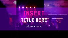 음악 축제 Google 슬라이드 프레젠테이션 템플릿_39