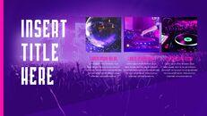 음악 축제 PowerPoint 템플릿 디자인_12