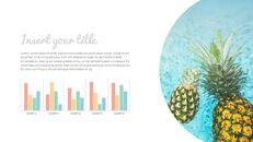 여름 파인애플 & 수박 구글 슬라이드_18