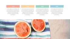 여름 파인애플 & 수박 구글 슬라이드_25