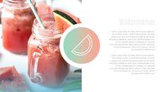 여름 파인애플 & 수박 구글 슬라이드_28