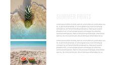 여름 파인애플 & 수박 구글 슬라이드_34